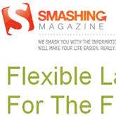 flexible web page layout and design