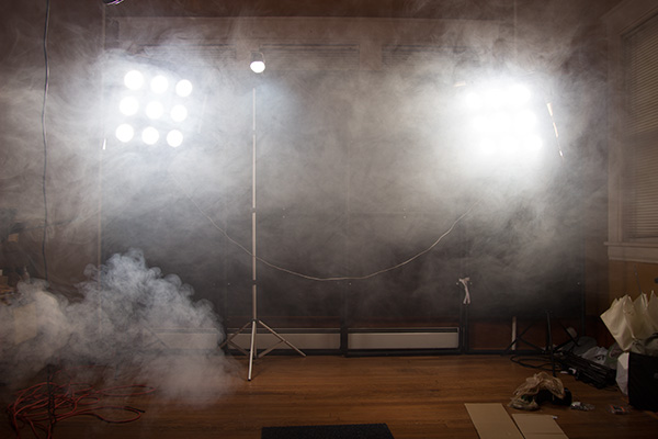 What CAN'T a smoke machine improve?!