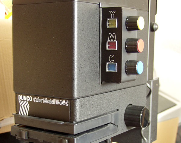Image Credit: Dunco Model II Color Enlarger by Frank Gosebruch