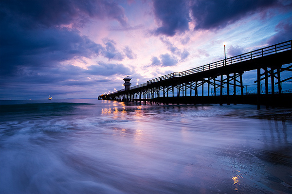 Image Credit: Sunset at the Seal Beach Pier by Eric Bryan