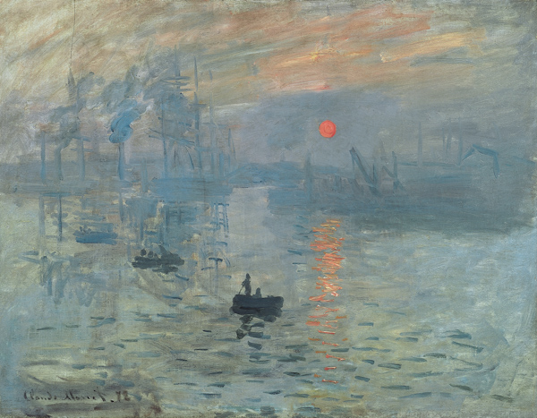 Image Credit: Impression Sunrise by Claude Monet