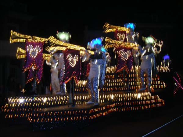 blurry float