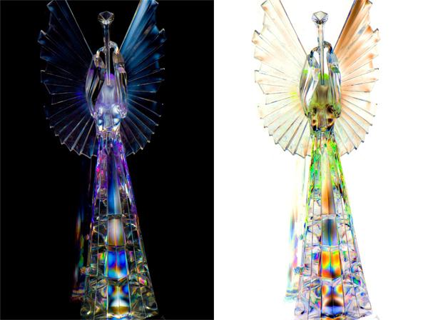 Original Dark Angel and Light Angel