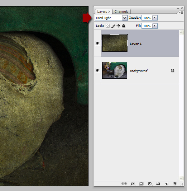 adding textures to photos