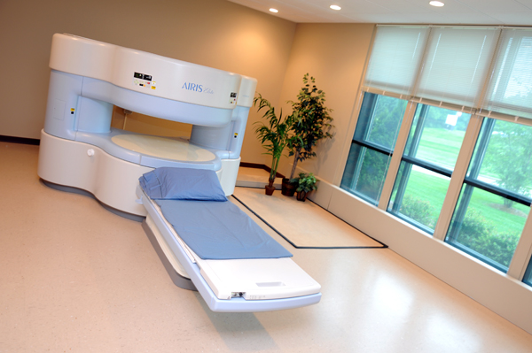 An MRI machine