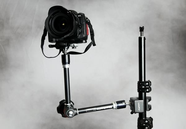 A remote camera mounted.