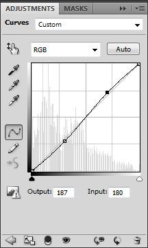 General curves adjustment