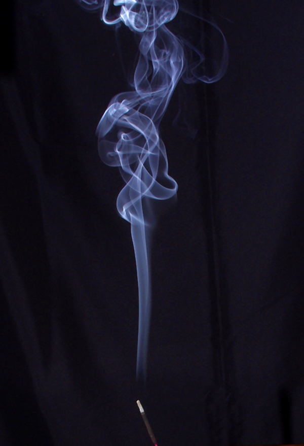 image of a plume of smoke
