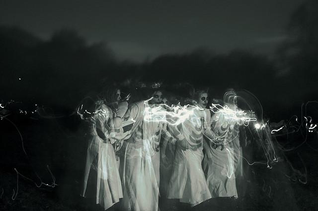 spooky halloween photography