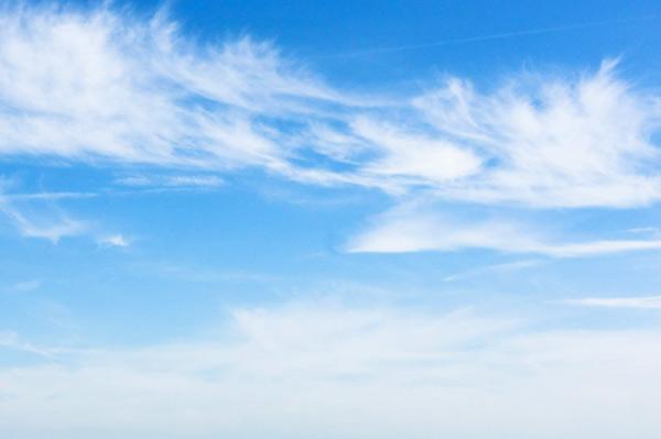 Photoshop как сделать голубое небо