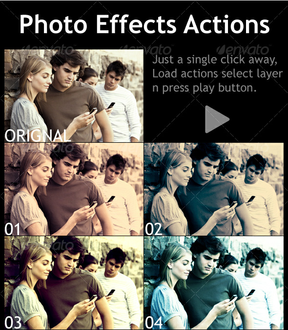 PhotoShop Photography Action