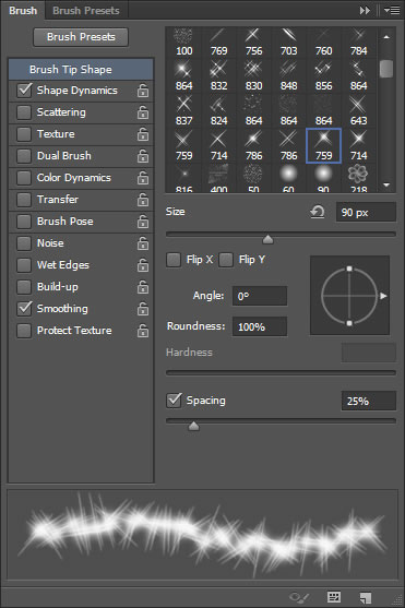 how to make a sparkiling gold effect in photoshop