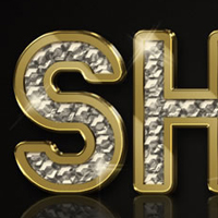 Preview for Create a Sparkling Diamond and Gold Text Effect Using Filter Forge and Photoshop