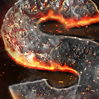 Preview for Create a Magma Hot Text Effect in Photoshop