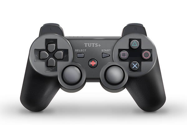 Link toHow to draw a playstation-inspired game controller from scratch in photoshop