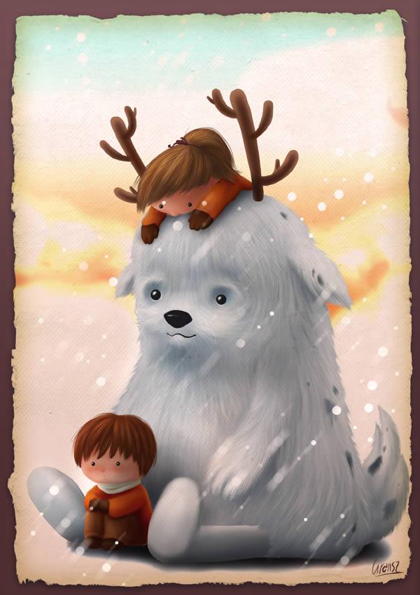 Create an Adorable Children's Illustration
