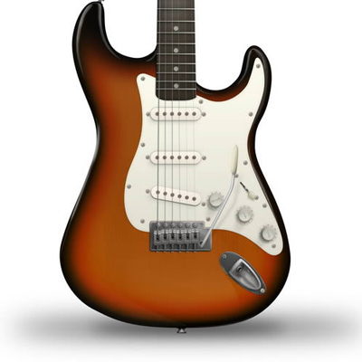 Preview for Draw an Electric Guitar in Photoshop