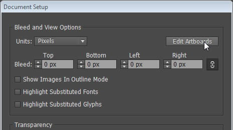 how to cut the stuff outside the artboard in illustrator
