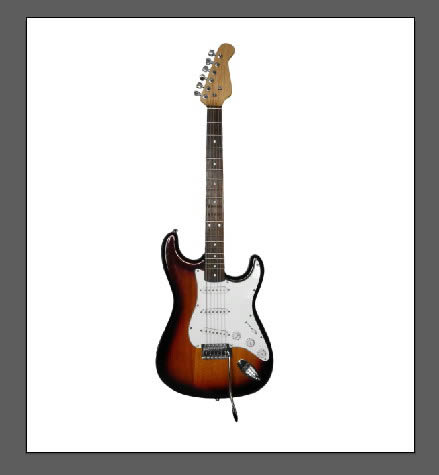 how to draw on a electric guitar