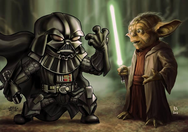 master yoda vs darth - photo #17