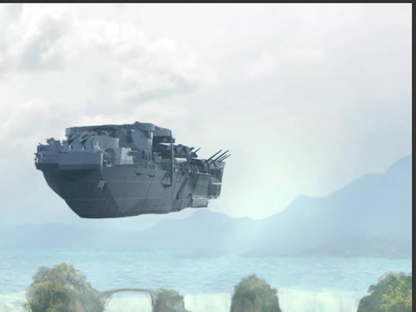 ship render