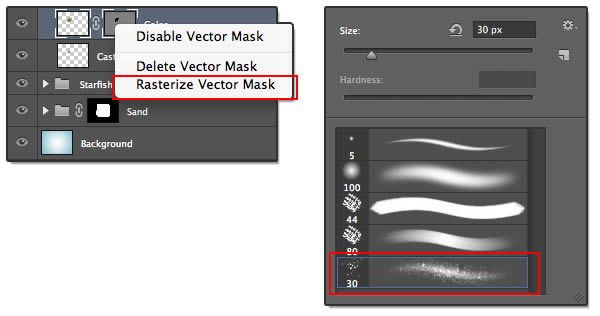 Vector Mask