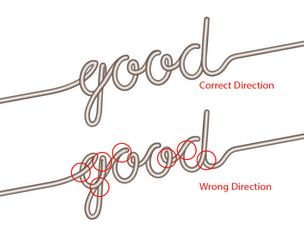 Use shop and Illustrator to Create Guitar String Typography