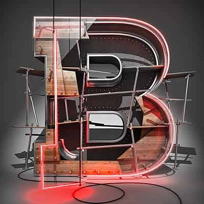 Preview for Create a 3D Typographic Illustration