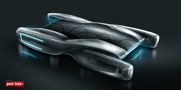 Link toCreate a futuristic concept car in photoshop