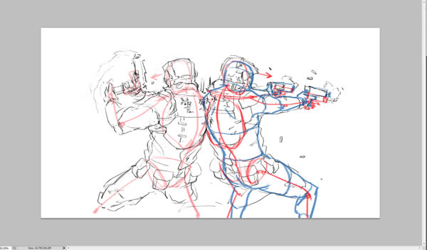 Create Action Packed Zombie Apocalypse Concept Art In