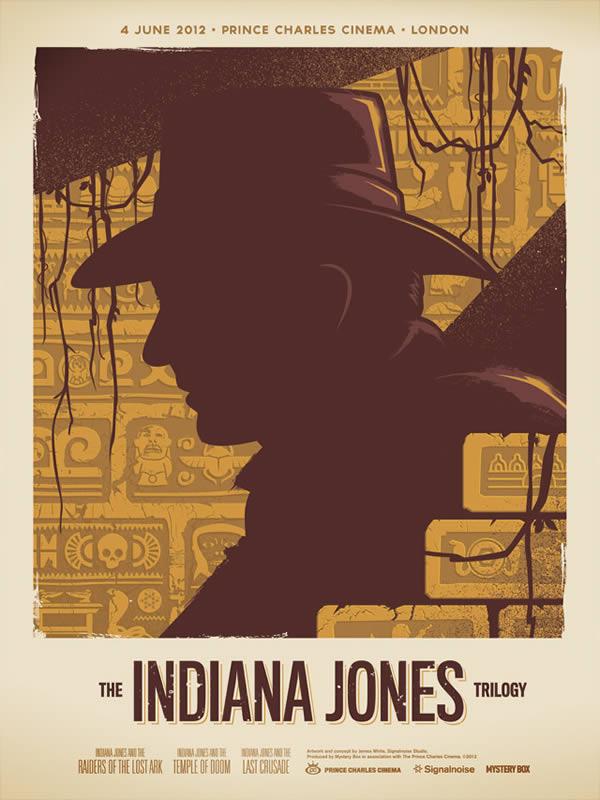 Retro Movie Posters of James White