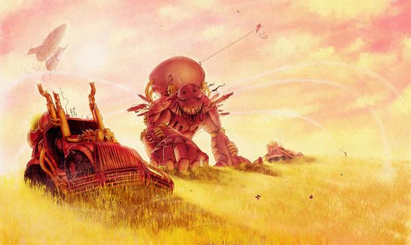 Link toHow to make a steampunk illustration - tuts+ premium tutorial