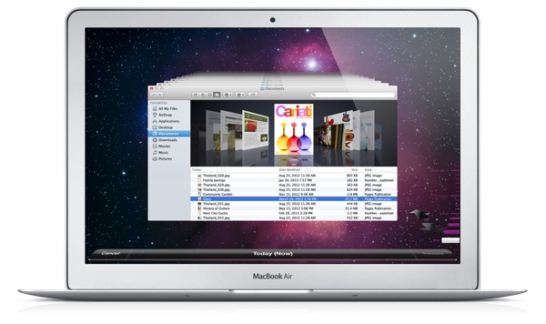 Time Machine is included with Mac OS X and is a very powerful backup solution that many of us will find useful.