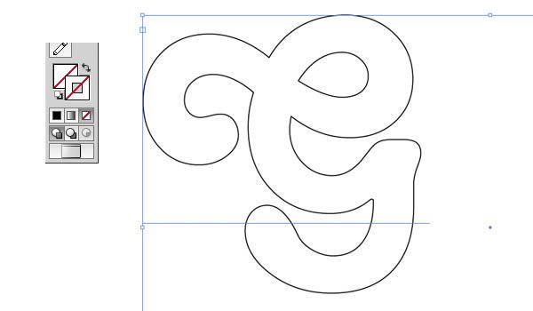 Creating paths in illustrator