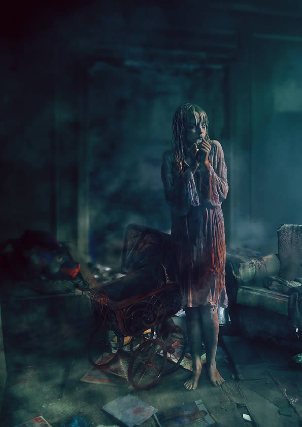 Create a Dark, Conceptual Photo Manipulation With Stock Photography Horror Film Photography
