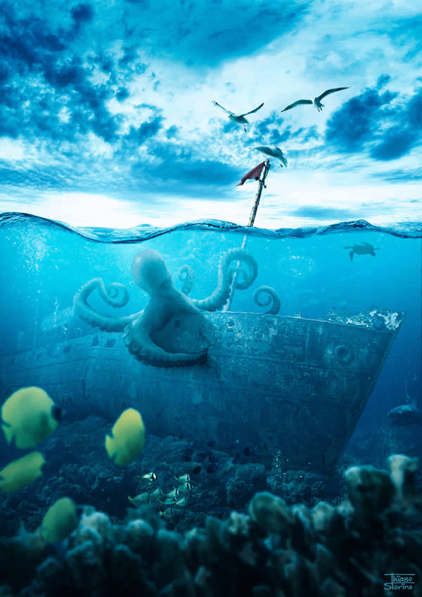 Underwater Scenes Can Be Quite Challenging To Create In A Realistic