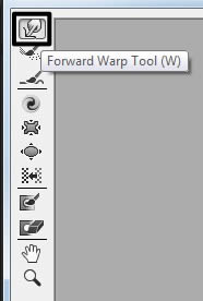 Forward warp tool