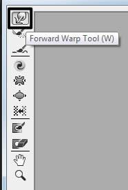 Forward warp tool