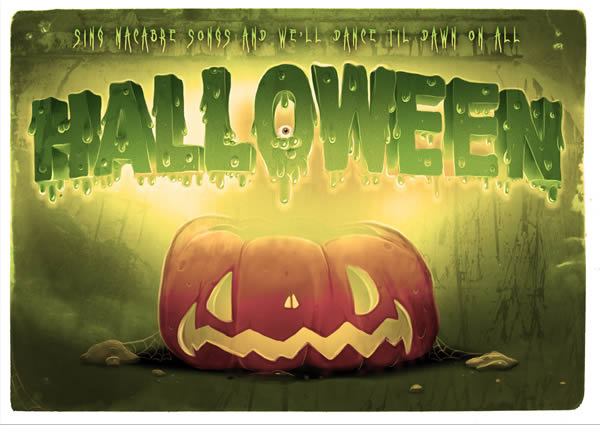 Link toHow to create spooky halloween typography in photoshop