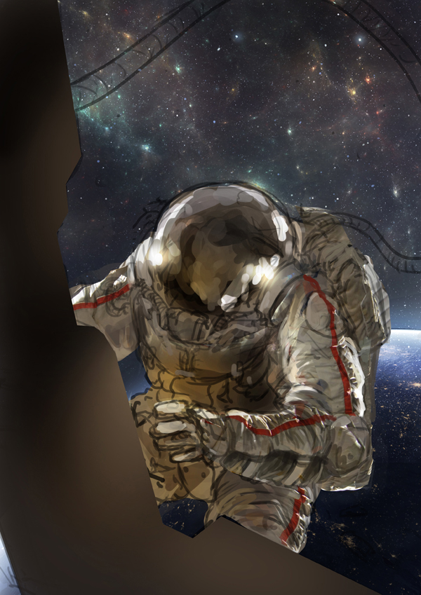 Character Design Pipeline Production Art Research Techniques With Barontieri : How to illustrate an astronaut in photoshop