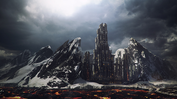 Link toCreate a mountain fortress using matte painting techniques in photoshop - tuts+ premium tutorial