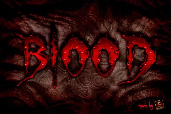 Картинки с надписью из крови, открытки день