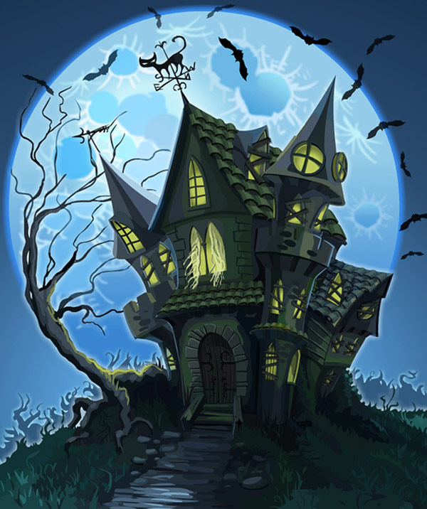 Haunted Houses: Design Challenge #7: Create A Haunted House