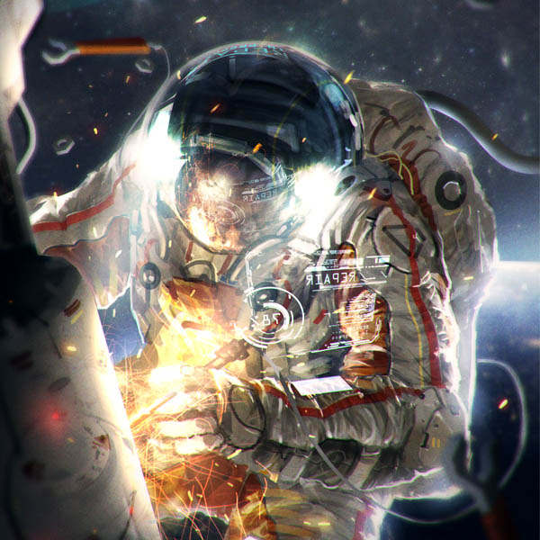 Preview for How to Illustrate an Astronaut in Photoshop