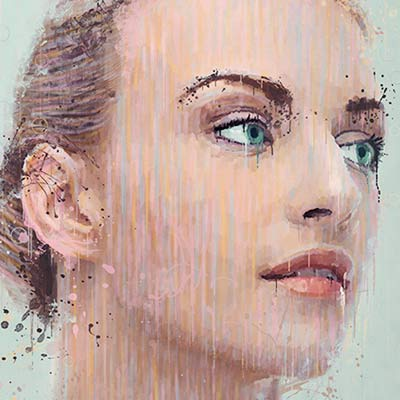 Preview for Manipulate a Portrait Photo to Create a Splatter Paint Effect