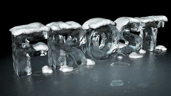 Link toCreate a 3d ice text effect with modo and photoshop
