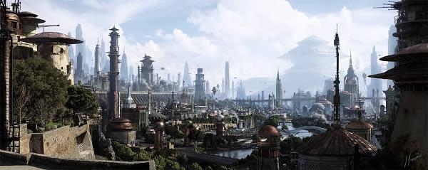 Coppernia city by Jamie Jasso