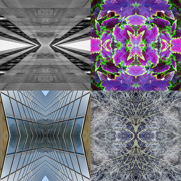 Create a kaleidoscope effect in photoshop