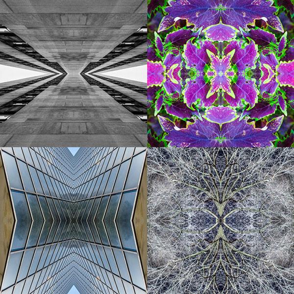 create a kaleidoscope effect in photoshop