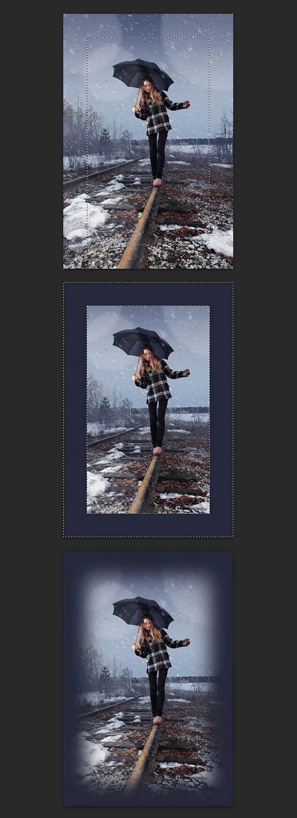 How to Add Realistic Falling Snow to a Photo in Photoshop